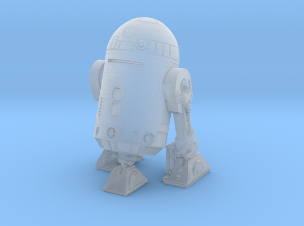 1/48 O Scale Robot-3 3-leg in Smooth Fine Detail Plastic