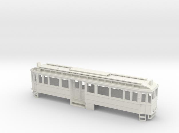Chassis Vierachser K-Bahn 1912 in White Natural Versatile Plastic