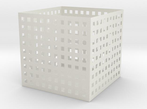 CubeSimplePerce 3d printed