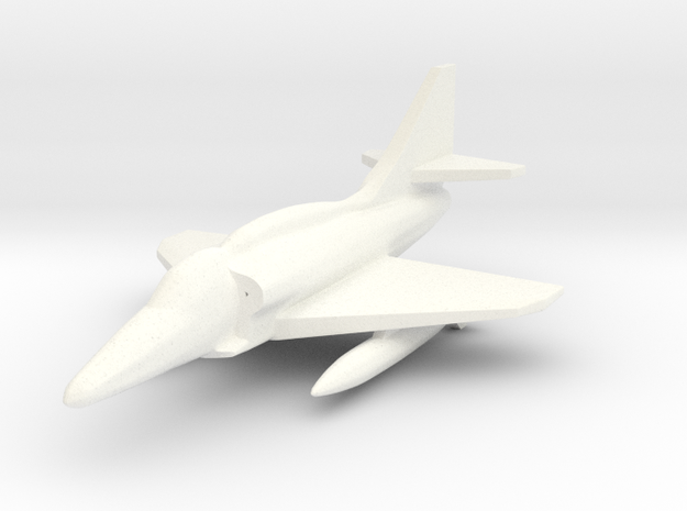 1/285 Scale (6mm) A-4M Skyhawk 3d printed