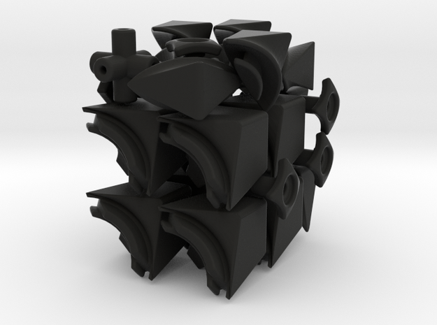 Brilicube II 3d printed