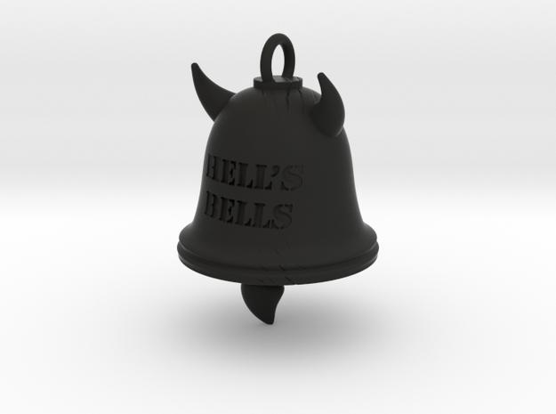 Hell's Bells Pendant 3d printed