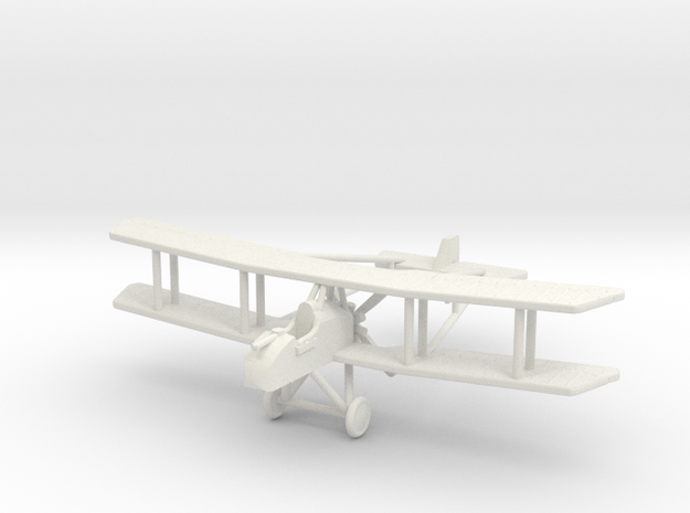 """RAF FE.8 """"with Ammo Racks"""" 1:144th Scale in White Natural Versatile Plastic"""