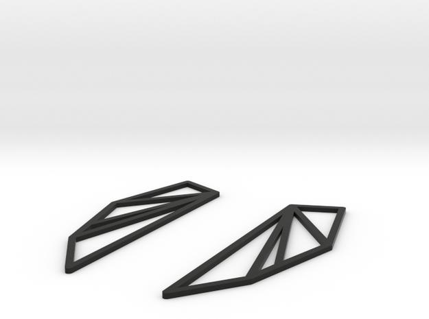 San Francisco Bay Area Earrings 3d printed