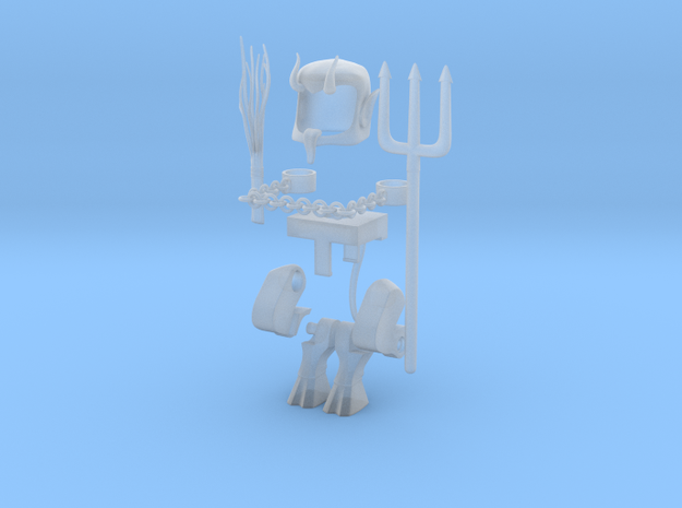 Krampus bundle for Minimates part 1 in Smooth Fine Detail Plastic