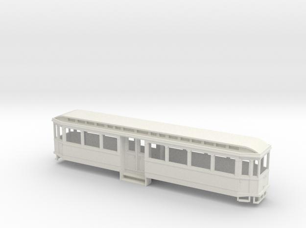 Chassis Beiwagen K-Bahn 1912 in White Natural Versatile Plastic