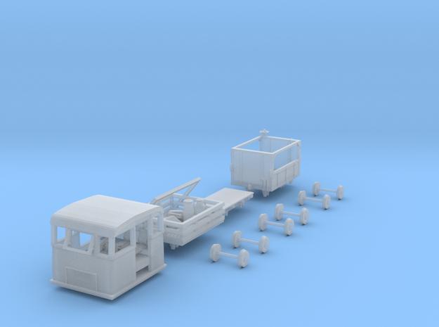 HOn30 PBR/ VR NKR-1 Rail Mail Car KIT in Smooth Fine Detail Plastic