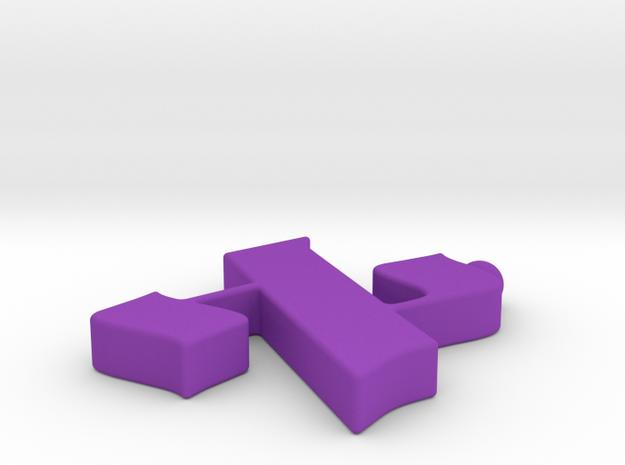Alef Charm 3d printed