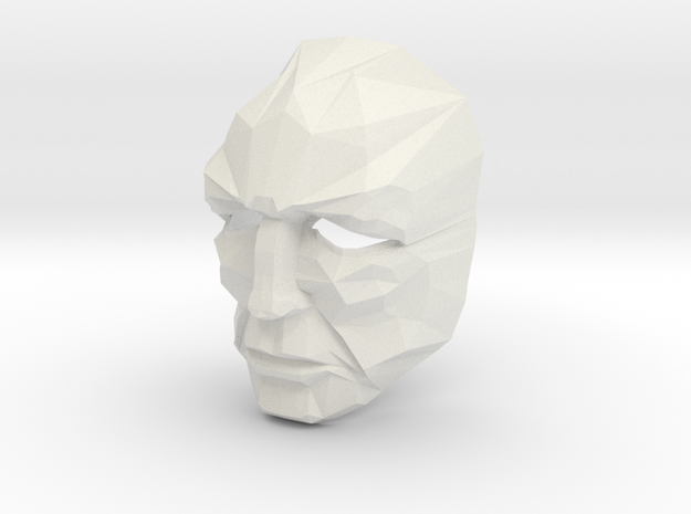 Full Size Jor-El Crystal Mask Superman 3d printed