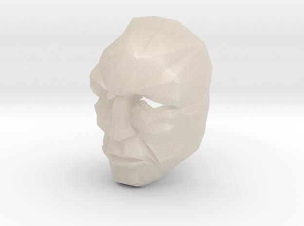 Jor-El 1/6 Scale Crystal Mask Superman 3d printed