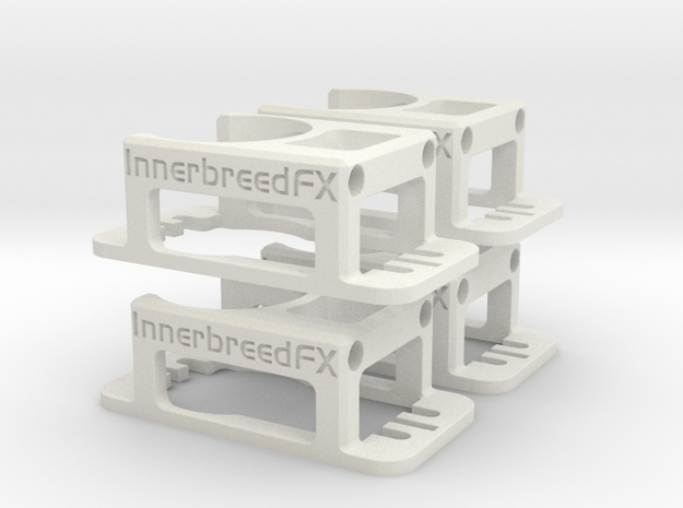 Innerbreed PullPull 24mm Casing v1.3 (4Pack) in White Natural Versatile Plastic