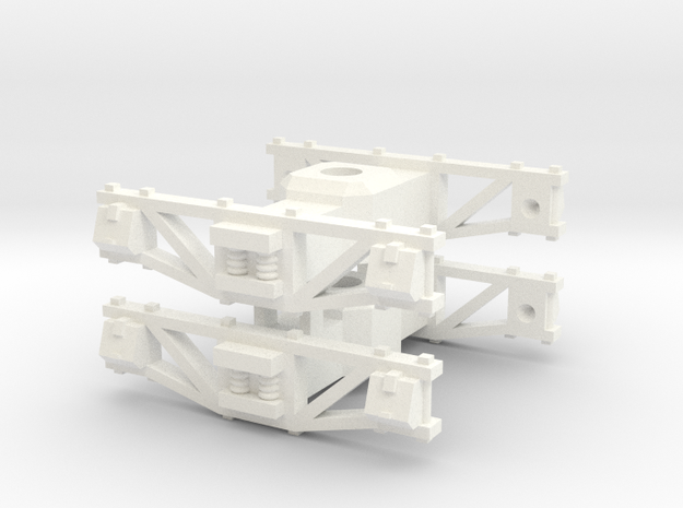 On30 Truck (4 foot wb) x2 3d printed