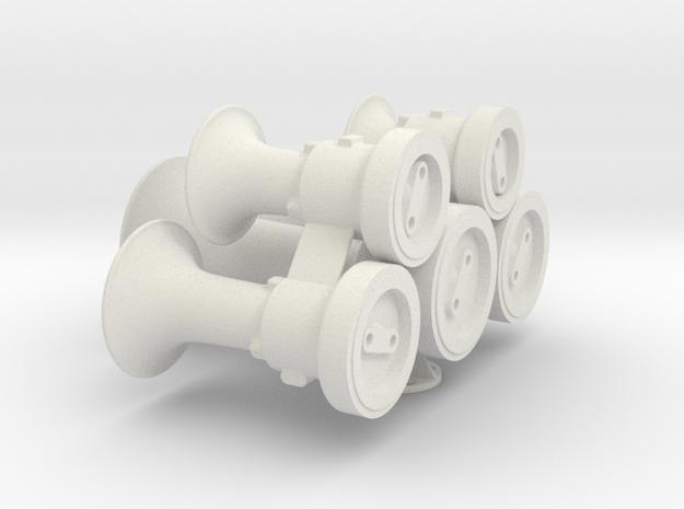 M5 1 WSF in White Natural Versatile Plastic