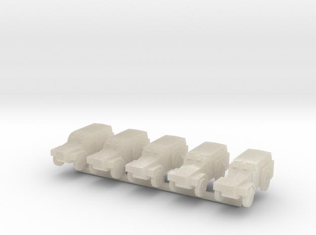1/300 Humber Pig x 5 3d printed