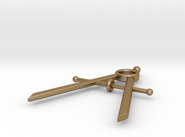 Mini Drafting Compass Pendant