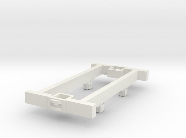 O9 4w Underframe (long) 3d printed