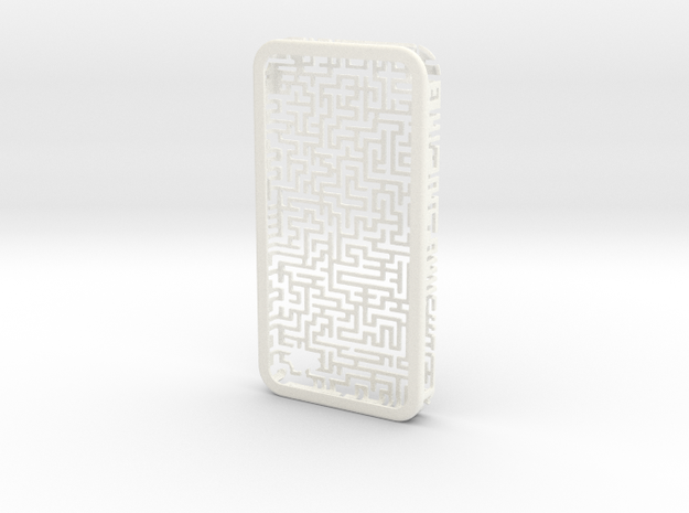 IPhone 4/4S - Maze Case 3d printed
