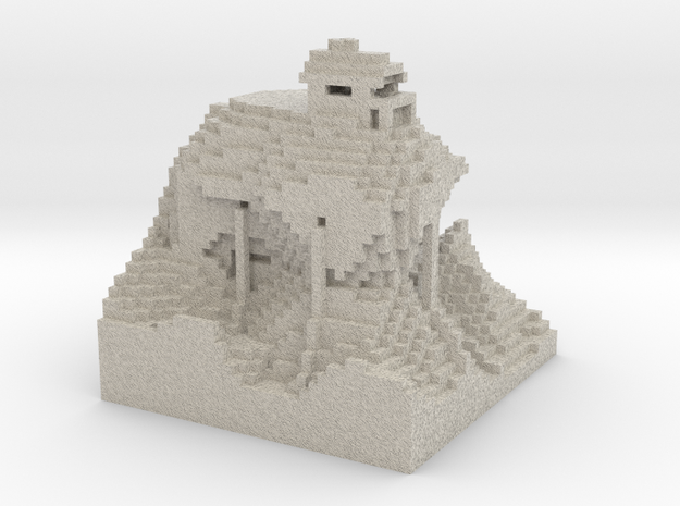 House of the Wise Man via Mineways! 3d printed
