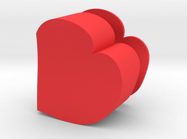 Heart Jewelry Box 3d printed