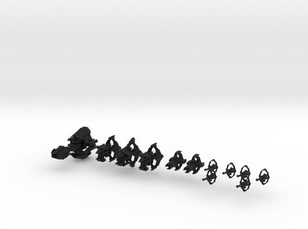 Slip Streamer Fleet 3d printed
