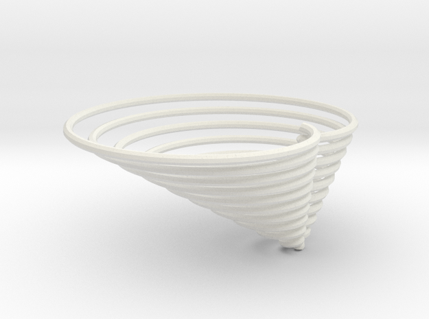 cardioid3d in White Strong & Flexible