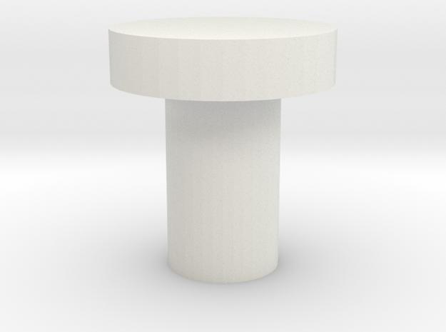 Plain Killkey in White Natural Versatile Plastic