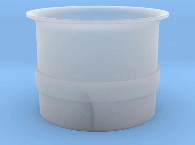 DF20 7mm in Smooth Fine Detail Plastic