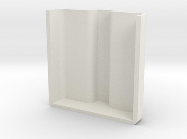 AirCasting Air Monitor Sensor Cover in White Natural Versatile Plastic