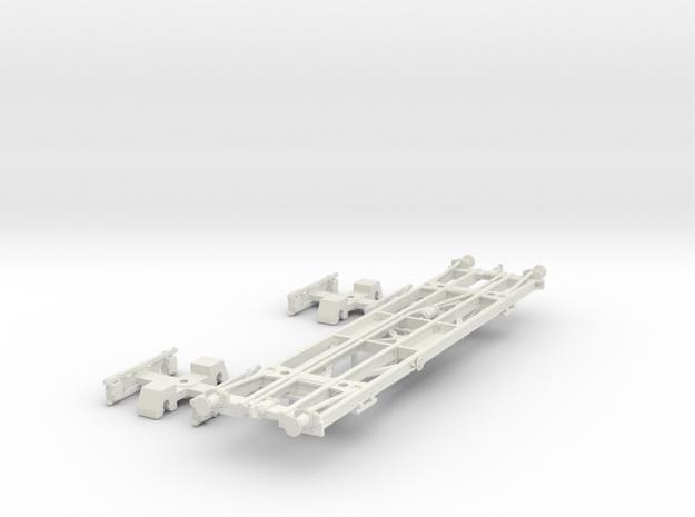 PBR 129Q(O/1:48 Scale) in White Natural Versatile Plastic
