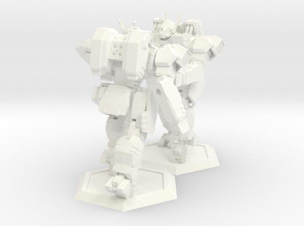 WHAM- King Sandman x2 (1/160th) 3d printed