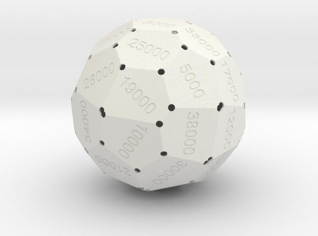 d40-000 in White Natural Versatile Plastic