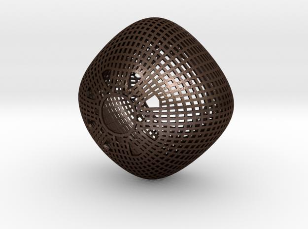Chandelier (round wireframe) 3d printed