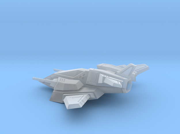 Space ship 02 in Smooth Fine Detail Plastic