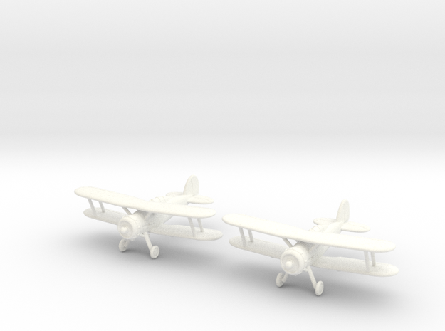 1/200 Gloster Gladiator M.II (x2) 3d printed