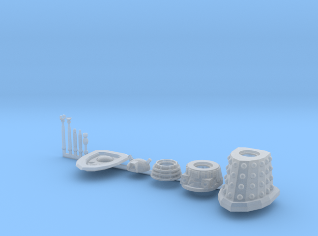Dalek Standard Sprue 016c in Smooth Fine Detail Plastic