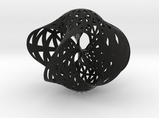 Seifert surface for (5,3) torus knot 3d printed