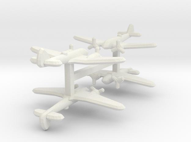 Bristol Blenheim Mk. IF 1:900 x4 in White Natural Versatile Plastic