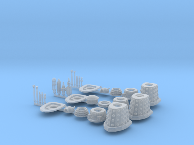 Dalek Support Cadre 016c in Smooth Fine Detail Plastic