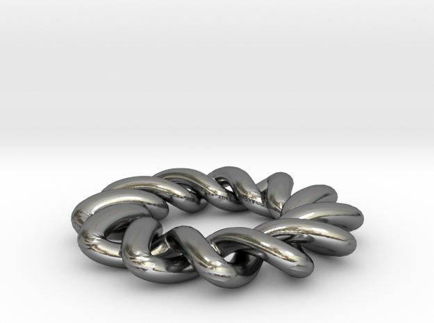 2x6 Celtic ring 3d printed