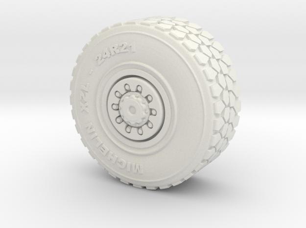 Military wheel for heavy truck