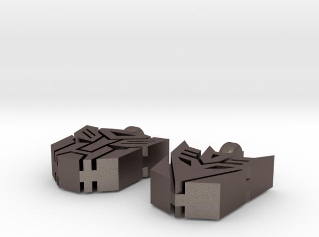 Transformer Earrings 3d printed