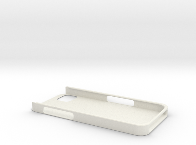 iPhone5 Protective Case in White Natural Versatile Plastic
