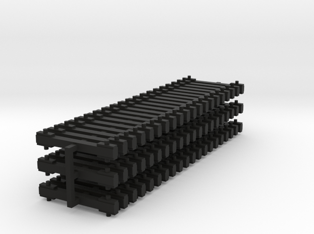 NEM bars 60x5mm in Black Strong & Flexible