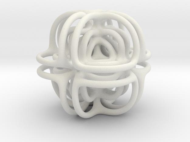 Doodad in White Natural Versatile Plastic