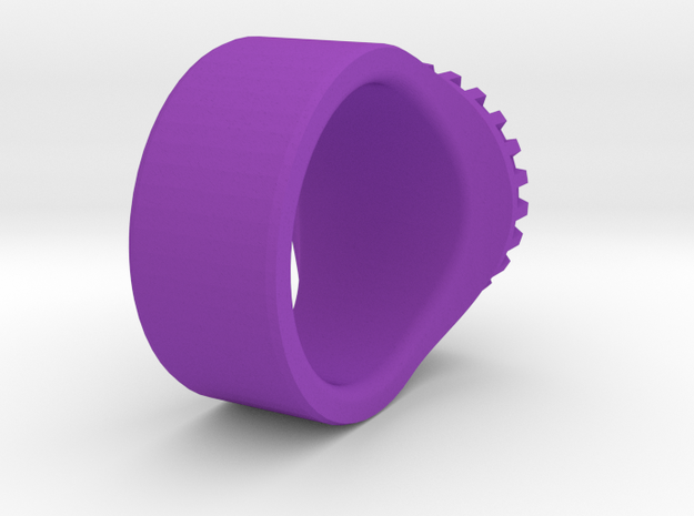 The Inventor's Ring 3d printed