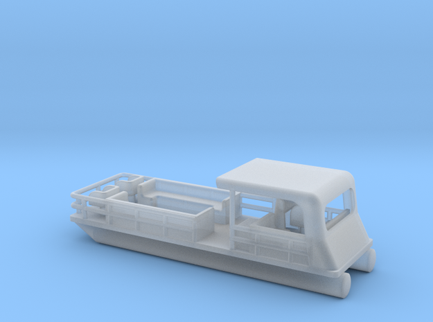 Pontoon Boat - Zscale 3d printed