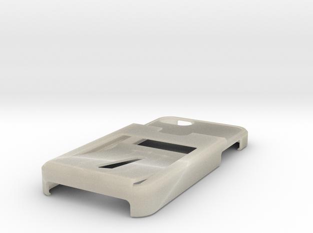 Tank Tri iphone 5 case w/ 3 CC 1ID holder Custom 3d printed