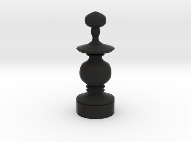 Smaller Staunton Bishop Chesspiece 3d printed