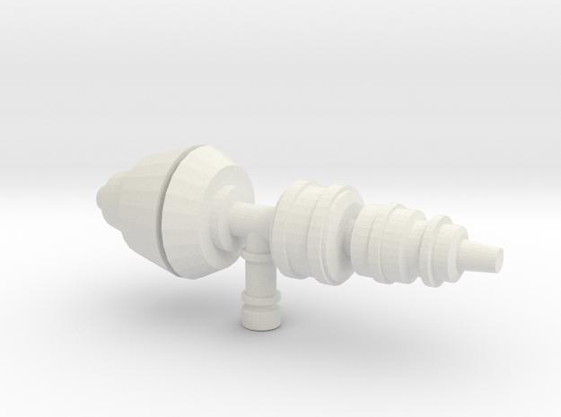 SpacePart2 in White Natural Versatile Plastic