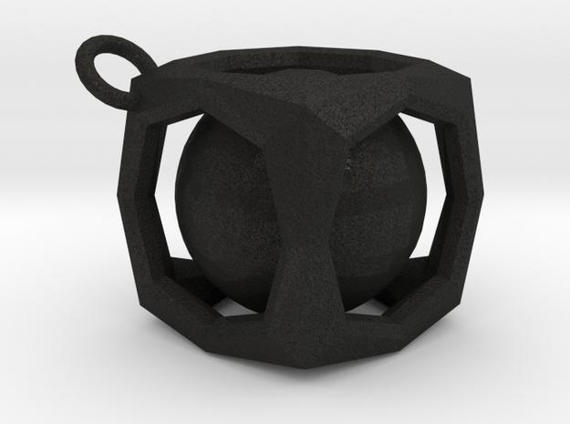 Encased Sphere Pendant